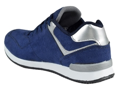 Zapatillas New Blink Kids Azul/Plata (37401) - comprar online