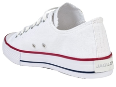 Zapatillas Unisex Jaguar Lona Blanco (80742) en internet