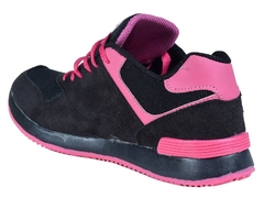 Zapatillas new blink kids negro/fucsia (37408) - comprar online
