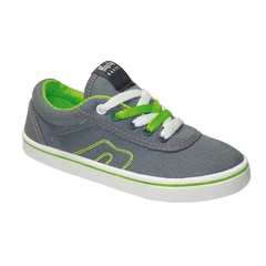 Zapatillas Kids Gris-Verde Hey Day (30403) - comprar online
