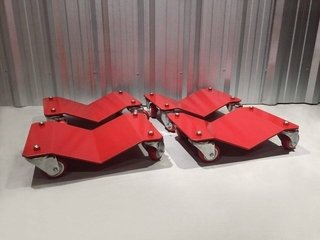 Carros (dollies) para automoviles - migarage