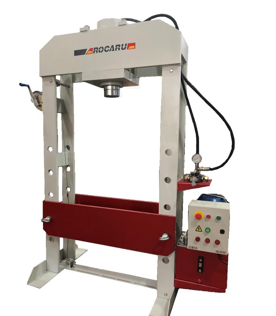Prensa electro hidráulica 100 ton. Mod. PH100RM