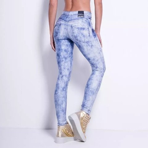 LEGGING JEANS ELECTRIC BLUE REF: FCL13101 on internet