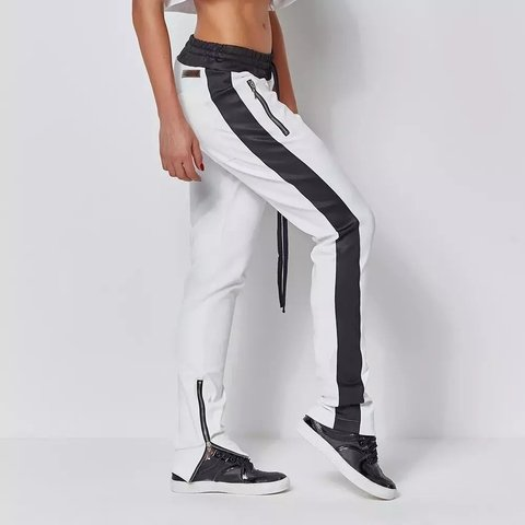 Image of TRACK PANTS LABELLAMAFIA WHITE REF: MCL14281