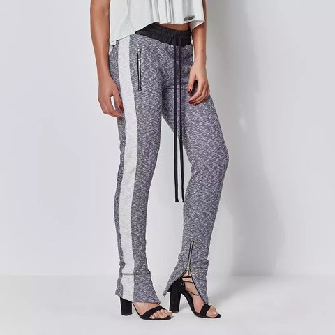 Image of TRACK PANTS LABELLAMAFIA GREY REF: MCL14286
