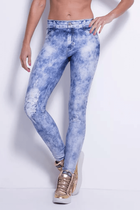 LEGGING JEANS ELECTRIC BLUE REF: FCL13101