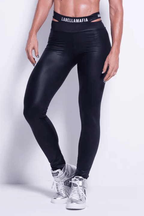 LEGGING BLACK LIGHTS SHAPED REF: FCL13006 - Labellamafia