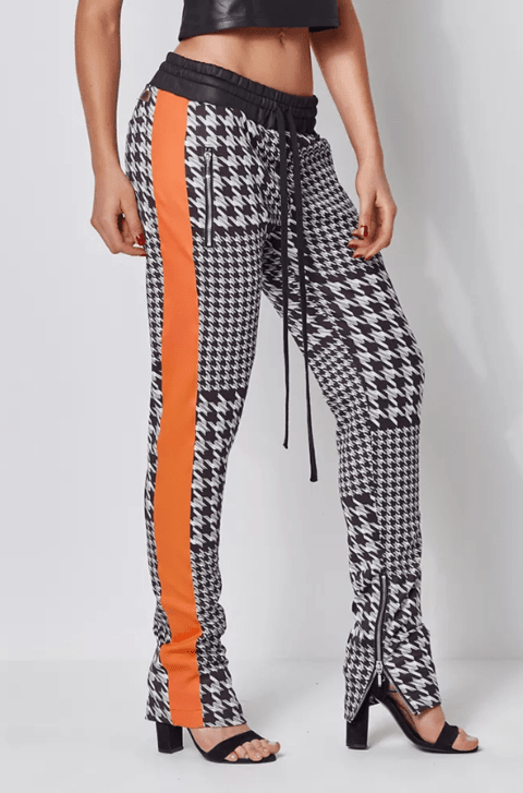 TRACK PANTS LABELLAMAFIA CHESS REF: MCL14284