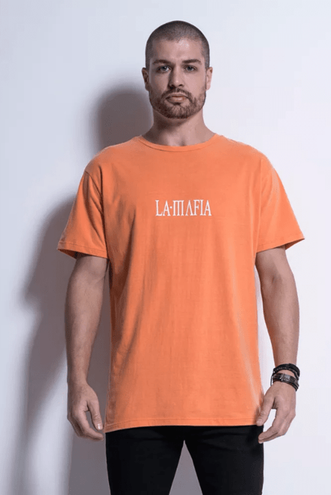 CAMISETA STREET ORANGE - Código: HCS12651