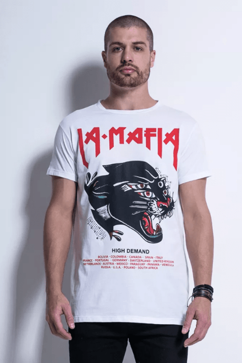 CAMISETA TATTOO WEAR BLACK TIGER - Código: HCS12685