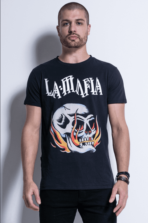 Camiseta Lamafia Tattoo Wear - Lamafia - HCS12712