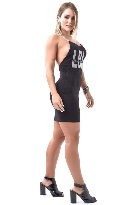 VESTIDO WARRIOR CURVES BLACK REF: MVT16007