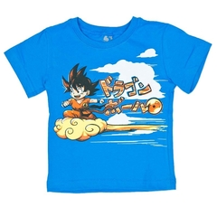 Camiseta Dragon Ball Goku Nuvem