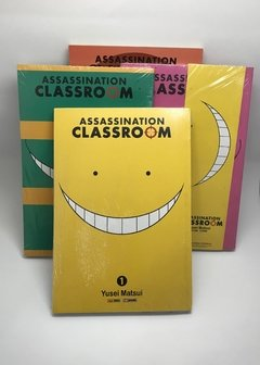 Pack Assassination Classroom (volumes 1 a 4)