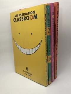 Pack Assassination Classroom (volumes 1 a 4) na internet