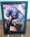 Quadro decorativo 3D A4 Thanos