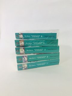 Pack RE Zero -Novel vols. 1 a 5