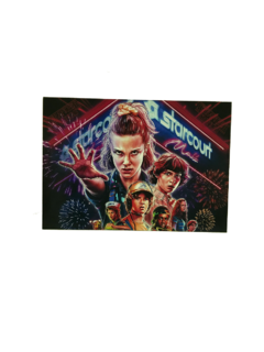 Placa Stranger Things