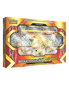Card Pokémon Box Pokémon Evolução Turbo Arcanine