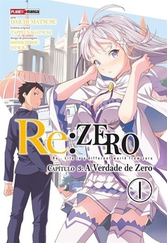 Re: Zero - A verdade de Zero cap. 3 vol. 1