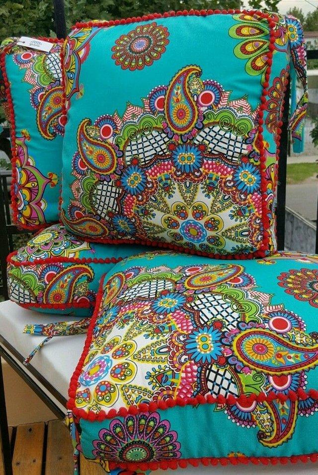 Almohadones para sillas comprar en almacen bohemio - Almohadones para sillas ...