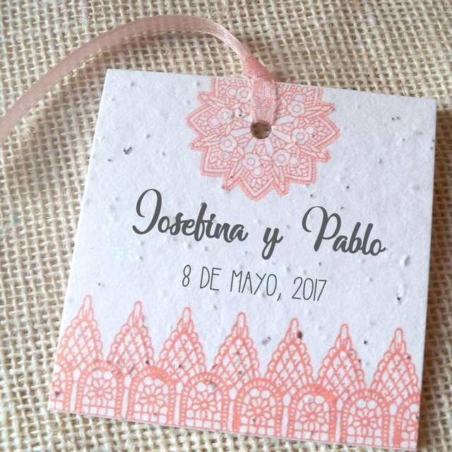 Papel Reciclado Plantable