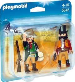 Duo Pack Sheriff y Bandido Playmobil (5512)
