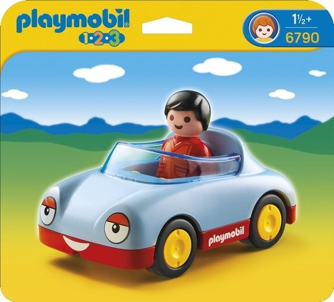 Auto Convertible Playmobil 1,2,3 (6790)