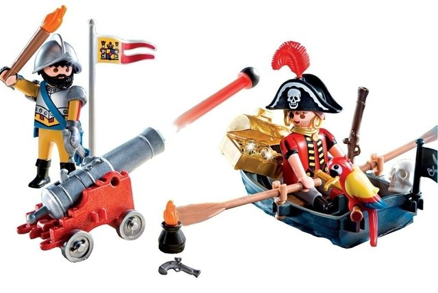 Maleta Piratas Playmobil (5894) en internet
