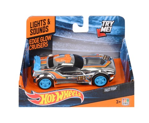 Hot Wheels Auto con Luces - Edge Glow Cruisers