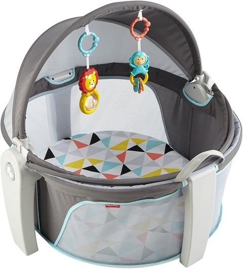 Fisher Price On the Go Baby Dome - Cuna portátil