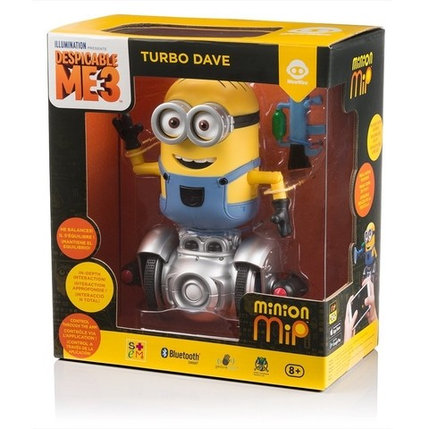 Minion Mip Turbo Dave Robot - Mi Villano Favorito