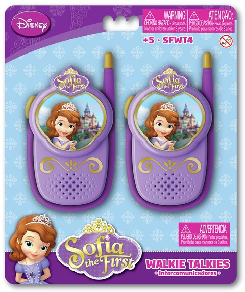 Walkie Talkie Princesita Sofía