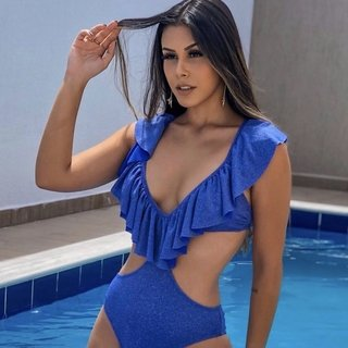 Body Maiô Lis Ocean Lurex na internet
