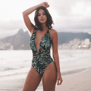 Body Maiô Stripes Mustique