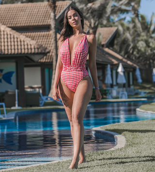 Body Maiô Stripes Vicky Rouge
