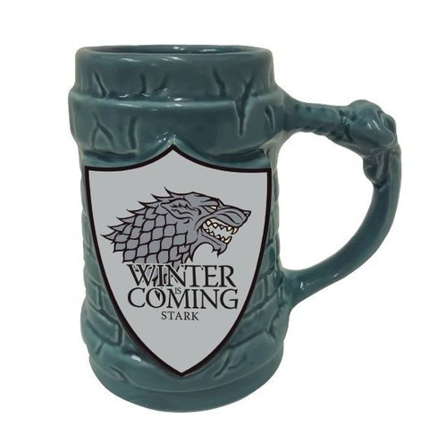 Caneca 3D Stark Escudo Game of Thrones 500ml