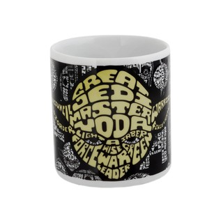 Caneca Yoda Type Star Wars We Design 250ml