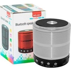 MINI SPEAKER WS-887  com Bluetooth