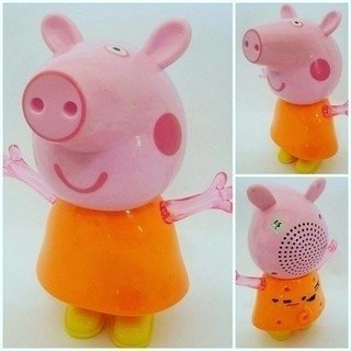 Peppa caixa de som mp3
