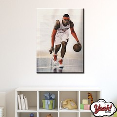 CUADRO DE LONA RECTANGULAR CARMELO ANTHONY # 11