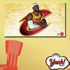 CUADRO DE LONA RECTANGULAR LEBRON JAMES # 25