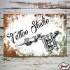 Chapa Tattoo codigo #29