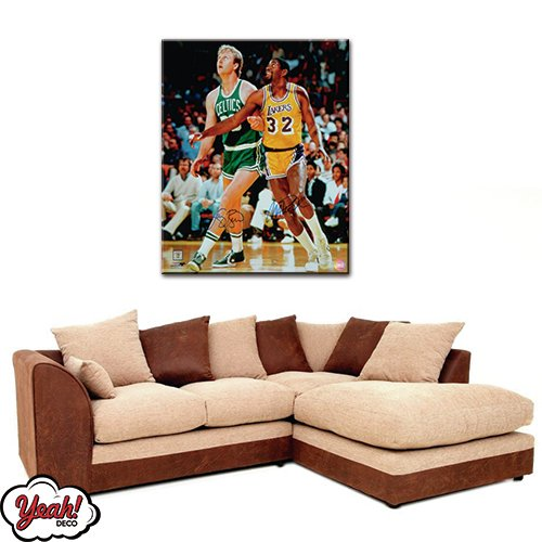 CUADRO DE LONA RECTANGULAR LARRY BIRD #3