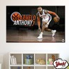 CUADRO DE LONA RECTANGULAR CARMELO ANTHONY # 4