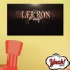 CUADRO DE LONA RECTANGULAR LEBRON JAMES # 7