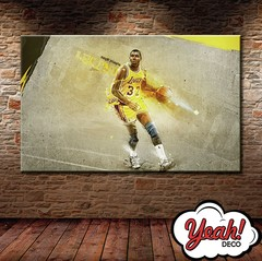 CUADRO DE LONA RECTANGULAR MAGIC JOHNSON #9
