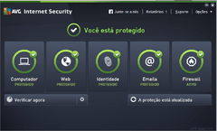 Antivírus AVG Internet Security 2020 1Ano 1PC - comprar online