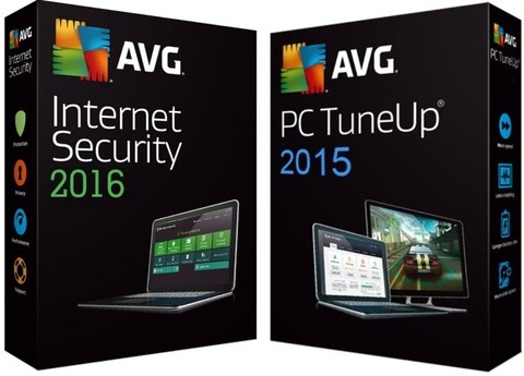 65% OFF - Antivírus AVG Internet Security 2016 1Ano 1PC e AVG TuneUP 2015