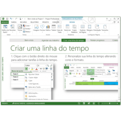 Imagem do Microsoft Project 2016 Professional 32/64Bits